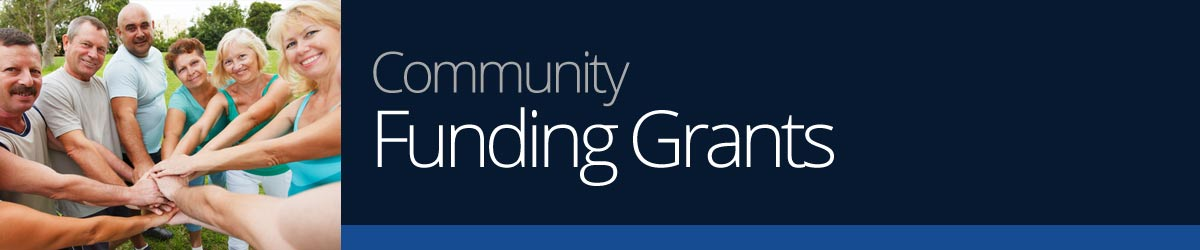community funding grants