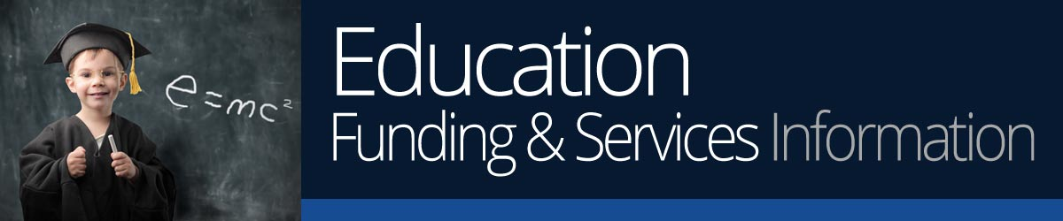 education funding and services